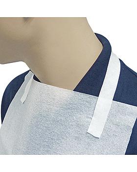 Einmal-Patientenserviettenhalter weiß, 41 x 2,2 cm (250 Stck.), ratiomed, medishop.de