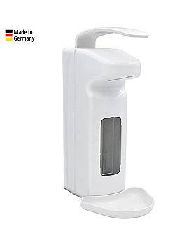 Armhebel-Dosierspender 500 / 1000 ml weiß, mit kurzem Hebel, ratiomed, medishop.de