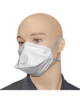 Atemschutzmaske FFP2 NR D weiß mit Ausatemventil, ratiomed, medishop.de