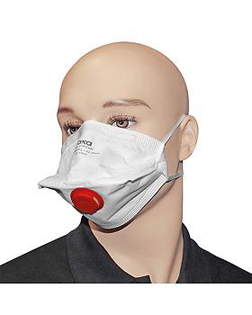 Atemschutzmasken FFP3 NR mit Ausatemventil (25 Stck.), ratiomed, medishop.de