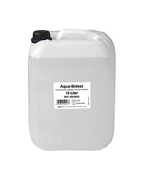 Aqua-Bidest 10 Ltr. Laborwasser, ratiomed, medishop.de
