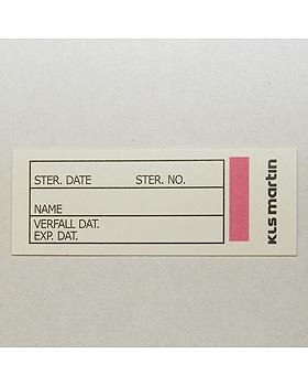 Protokollkärtchen mit Indikator für ES-Container (320 Stck.), Martin, medishop.de