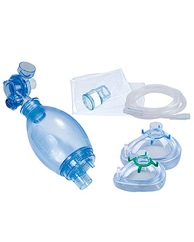 AERObag Beatmungsbeutel PVC, für Kinder mit Maske Gr. 1 und 3,, HUM, medishop.de