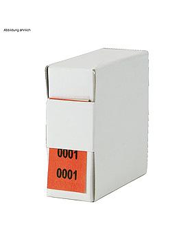 Archiv-Nummern, doppelt 8001 - 9000, rot, Med + Org, medishop.de