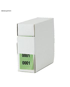 Archiv-Nummern, doppelt 14001 - 15000, grün, Med + Org, medishop.de