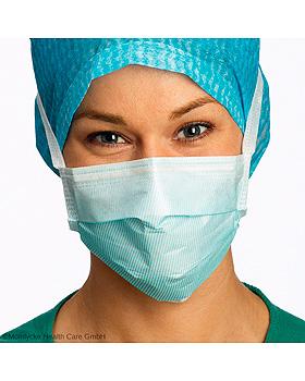Barrier Surgine II OP-Maske Anti-Fog, hypoallergen, blau (60 Stck.), Mölnlycke Health Care, medishop.de