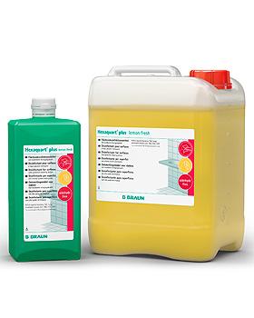 Hexaquart plus lemonfresh 1000 ml Flächendesinfektion, B.Braun, medishop.de