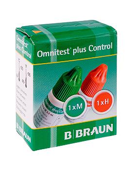 Omnitest plus Control (2x3,5 ml) Lösung zur Funktionskontrolle, B.Braun, medishop.de