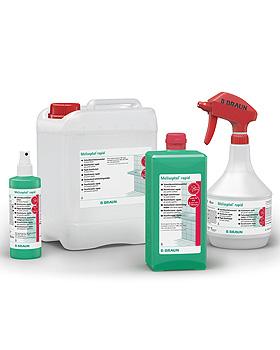 Meliseptol rapid 1000 ml Dosierflasche Flächenschnelldesinfektion, B.Braun, medishop.de