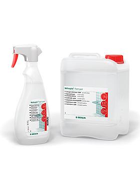 Meliseptol Foam pure 750 ml Sprühflasche Flächenschnelldesinfektion, B.Braun, medishop.de
