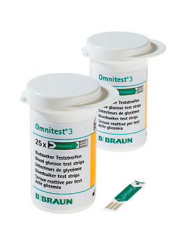 Omnitest 3 Sensoren (2 x 25 T.), B.Braun, medishop.de