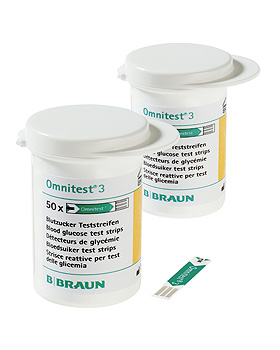 Omnitest 3 Sensoren (2 x 50 T.), B.Braun, medishop.de
