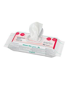 Meliseptol Wipes sensitive flowpack XL (42 T.) Flächenschnelldesinfektion, B.Braun, medishop.de