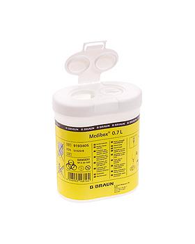 Medibox Kanülensammler 0,7 Ltr., B.Braun, medishop.de