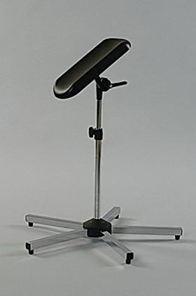Arm- und Beinstütze Stahl verchromt, 5-Fuß, Dr. Paul Koch, medishop.de
