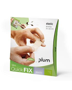 QuickFix Mini Pflasterpackung inkl. 30 Pflasterstrips elastic, Plum Deutschland, medishop.de