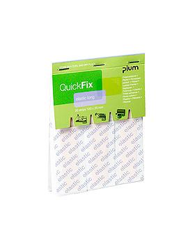 QuickFix Elastic long Refill Pflaster 12 x 2 cm (30 Strips), Plum Deutschland, medishop.de