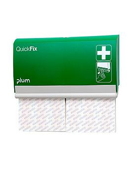 QuickFix Pflasterspender inkl. 2 Elastic long Refills, Plum Deutschland, medishop.de