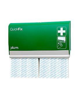 QuickFix Pflasterspender inkl. 2 Detectable long Refills, Plum Deutschland, medishop.de