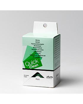 QuickClean Wundreinigungstücher Refill (40 Tücher), Plum Deutschland, medishop.de