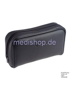 Vinyltasche mit Reißverschluss, schwarz, Riester, medishop.de