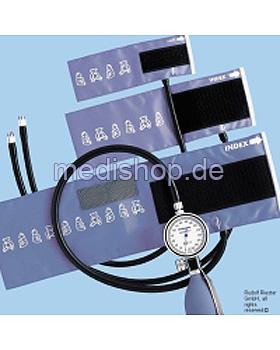 babyphon Blutdruckmessgerät Ø 49 mm, Metall, 1-Schlauch, Set I, Riester, medishop.de