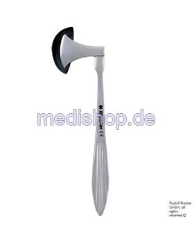 berliner Perkussionshammer 20 cm, Griff rostfreier Stahl, Riester, medishop.de