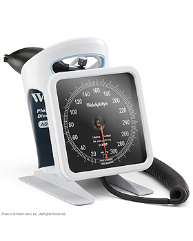 767 Blutdruckmessgerät, Tischmodell mit FlexiPort-Manschette für Erwachsene, WelchAllyn, medishop.de