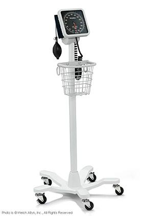 767 Blutdruckmessgerät, Stativmodell mit FlexiPort-Manschette Erwachsene, WelchAllyn, medishop.de