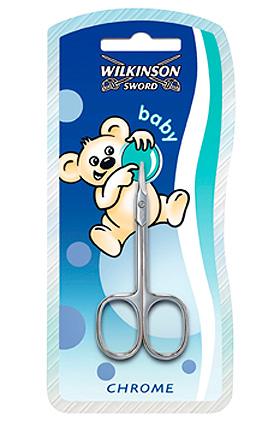 Babyschere Wilkinson Matt-Chrom Typ 410D, Wilkinson Sword, medishop.de