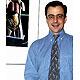 Sport-Skelett-Krawatte, grau