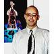 Wirbelsäulen-Krawatte, schwarz