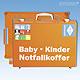 Notfallkoffer Baby - Kinder MT-CD, gefüllt