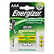 Energizer NiMH Akkumulatoren Power Plus Micro AAA HR03 1,2 V (2er-Pack)
