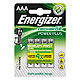 Energizer NiMH Akkumulatoren Power Plus Micro AAA HR03 1,2 V (4er-Pack)