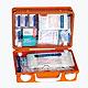 QUICK Erste-Hilfe-Koffer leer, 26 x 17 x 11 cm, orange, 1 Stück