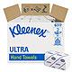 KLEENEX Ultra Handtücher medium 2-lagig, weiß, 31,5 x 21,5 cm (30 x 124 Bl.)