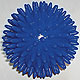 Igel-Massage-Handball blau Ø 10 cm