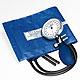 Prakticus II Blutdruckmessgerät Ø 68 mm 2-Schlauch, blau, für starke Arme,