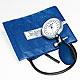 Prakticus I Blutdruckmessgerät Ø 68 mm 1-Schlauch, blau, kpl. im Etui