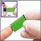 Sterilance Press II Sicherheitslanzetten 18 G x 1,8 mm, grün (100 Stck.), 1 Packung