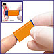 Sterilance Press II Sicherheitslanzetten 21 G x 2,2 mm, orange (100 Stck.), 1 Packung