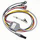 5-adriges EKG Kabel 60 cm mit 2 adriger Ableitung für Micropaq (IEC)