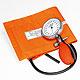 Prakticus I Blutdruckmessgerät Ø 68 mm 1-Schlauch, orange, kpl. im Etui