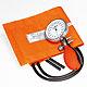 Prakticus II Blutdruckmessgerät Ø 68 mm 2-Schlauch, orange, kpl. im Etui