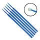 Einmal-Applikatoren medium, beflockt, blau, 103 mm lang (100 Stck.)