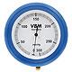 Manometer 300 mmHg zur Fixation an der Druckinfusionsmanschette, druckgeprüft