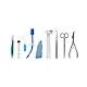 Surgicric II Koniotomiebesteck steril für chirurgische Koniotomie