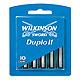 Ersatzklingen Typ 124A für Wilkinson Duplo II Plus (10 Stck.) #W040124200#